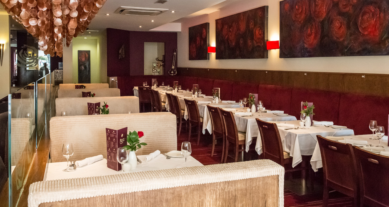 Contemporary Indian Restaurant – Rose Indienne